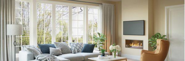 Hatfield apartment living room